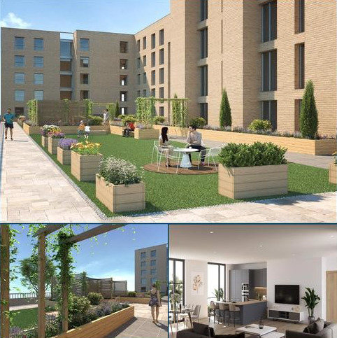 2 bedroom penthouse for sale - Plot 38 - City Garden Apartments, St. Georges Road, Glasgow, G3