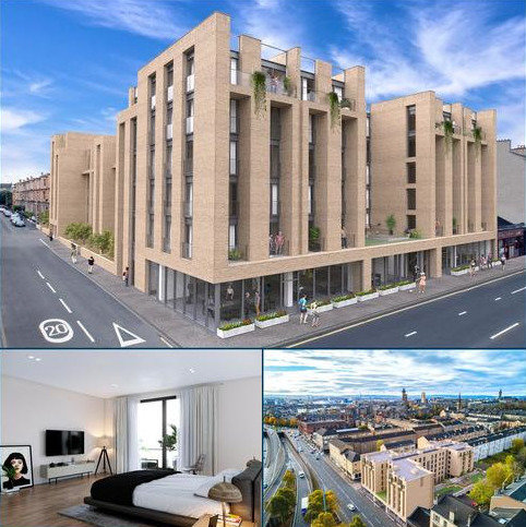 1 bedroom penthouse for sale - Plot 23 - City Garden Apartments, St. Georges Road, Glasgow, G3
