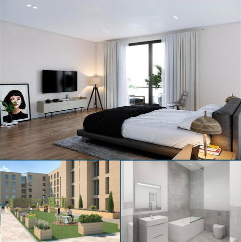 1 bedroom flat for sale - Plot 14 -  City Garden Apartments, St. Georges Road, Glasgow, G3