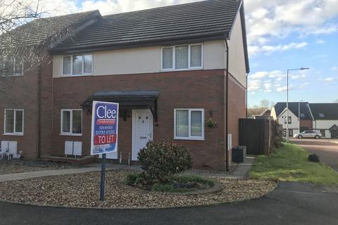 2 bedroom end of terrace house to rent - Bron Afon Uchaf, Tircoed Forest Village, Penllergaer, Swansea, City And County of Swansea.