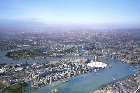 2 bedroom flat for sale - UPPER RIVERSIDE, Greenwich Peninsula, London, SE10