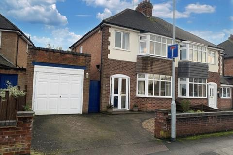 3 bedroom semi-detached house for sale - Mere Road, Wigston, Leicester , LE18