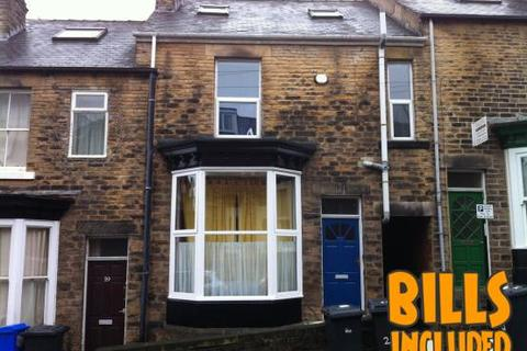 5 bedroom terraced house to rent - Beehive Road, Crookesmoor, Sheffield S10