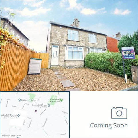 2 bedroom semi-detached house to rent - Broomfield Road, Marsh, Huddersfield, West Yorkshire, HD1
