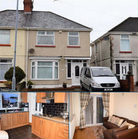 3 bedroom semi-detached house for sale - Gendros Crescent, Swansea, SA5