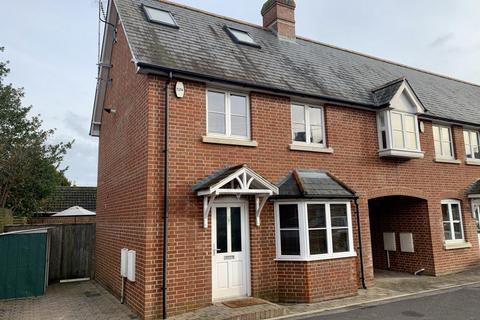 3 bedroom end of terrace house for sale - Osborne Mews, Wimborne, BH21 1GJ