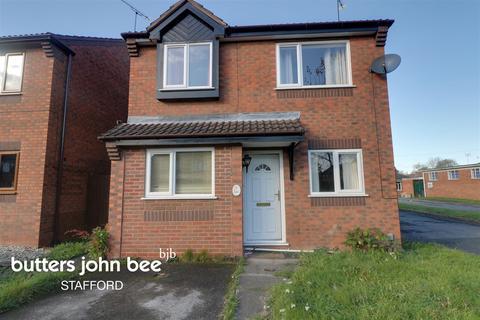 3 bedroom detached house for sale - Helen Sharman Drive, Stafford