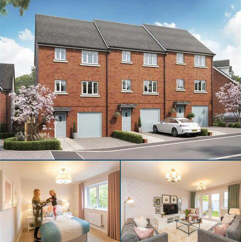 4 bedroom end of terrace house for sale - Plot 172, The Foulston at Tithe Barn, Tithebarn Link Road, Exeter, Devon EX1