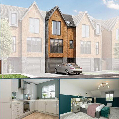 3 bedroom semi-detached house for sale - Plot 09, The Portland at Waters Edge, Edge Lane, Droylsden, Greater Manchester M43