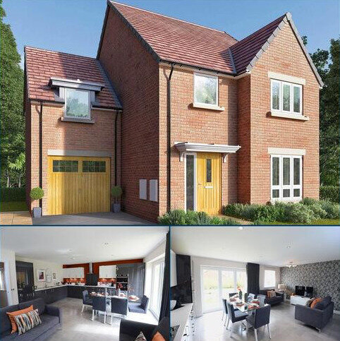 4 bedroom detached house for sale - Plot 154, The Jacksdale at Wilford Fields, Wilford Lane, West Bridgford, Nottinghamshire NG2