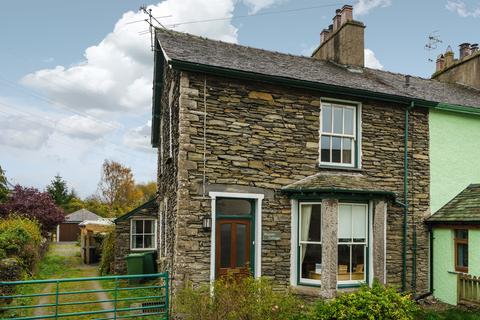 3 bedroom end of terrace house for sale - Maisies Cottage, 1 Bank Terrace, Staveley, Kendal, Cumbria, LA8 9NQ