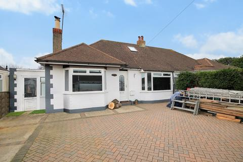 2 bedroom semi-detached bungalow for sale - Hamilton Road, Lancing BN15 9NR