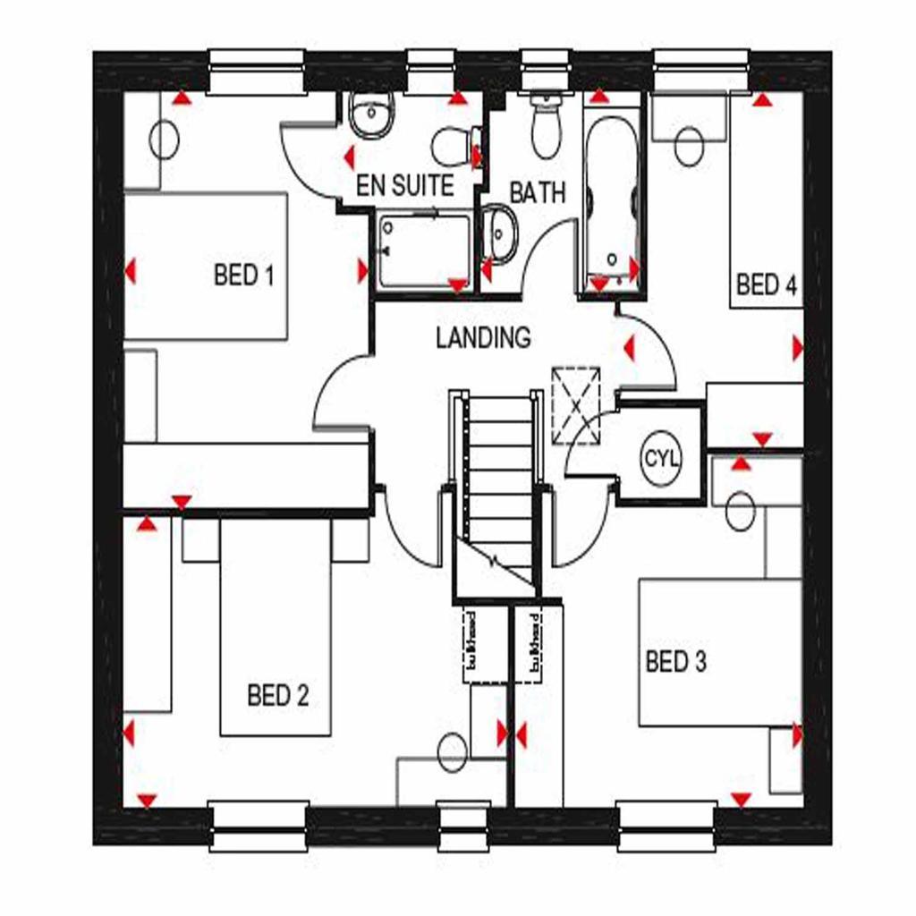 Floorplan 2 of 2: Thornbury FF