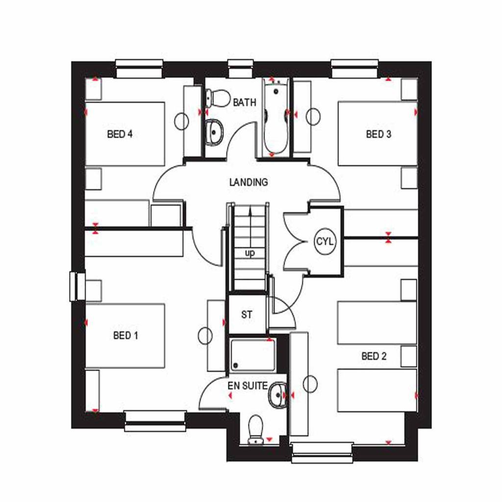 Floorplan 2 of 2: Cambridge FF OG