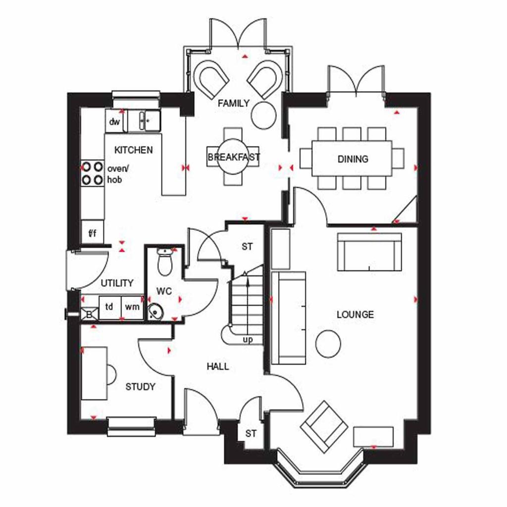 Floorplan 1 of 2: Cambridge GF