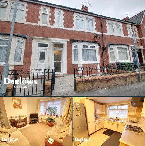 3 bedroom terraced house for sale - De Burgh Street, Cardiff