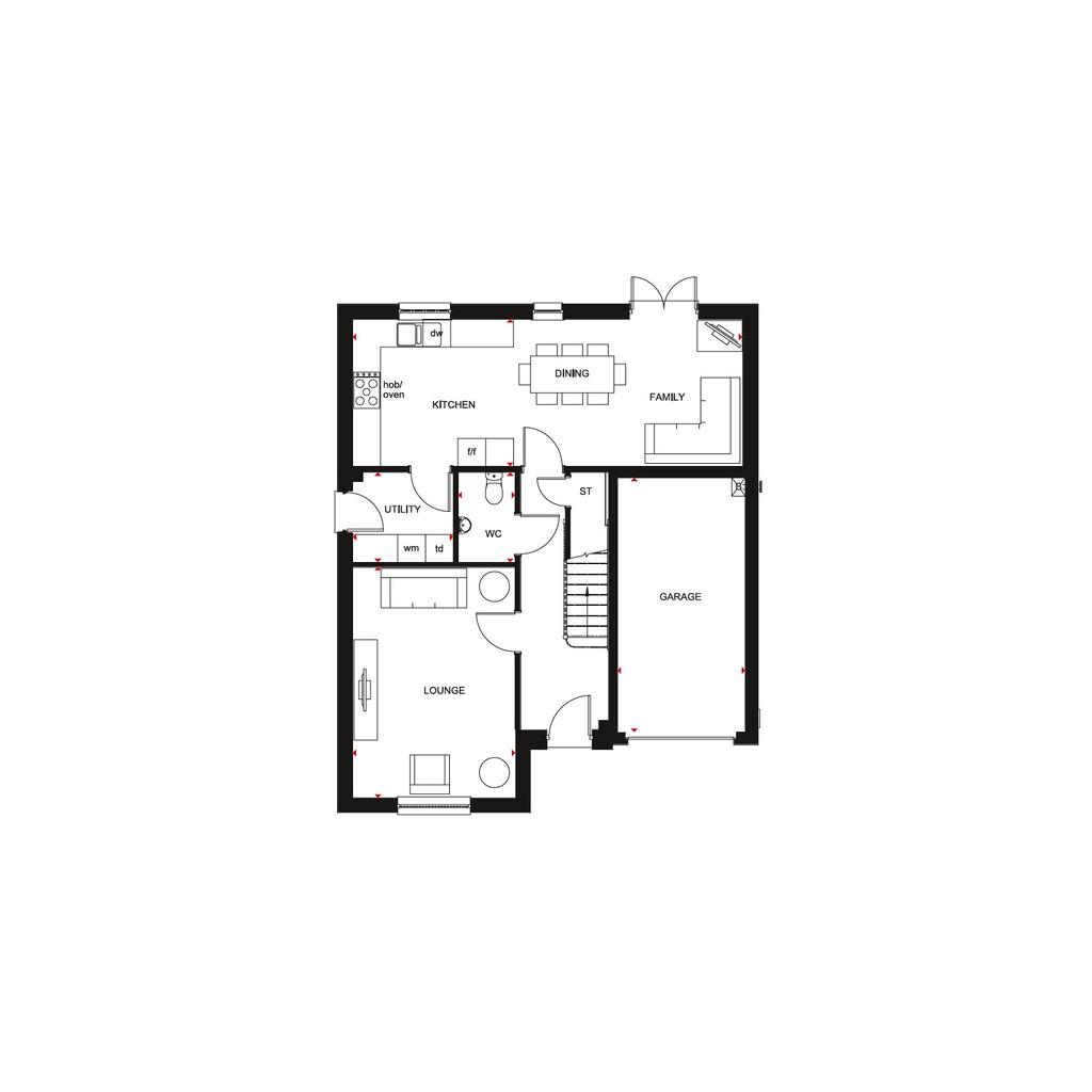 Floorplan 1 of 2: Ballathie 2018 FF floorplan layout November 2019