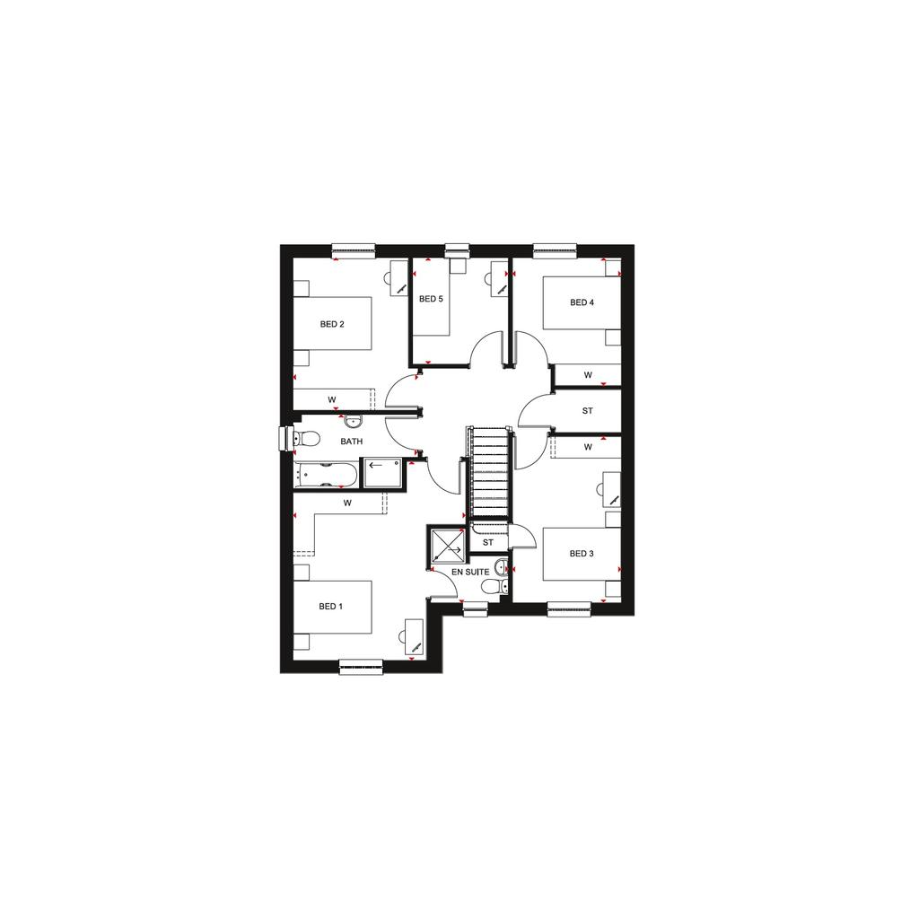 Floorplan 2 of 2: Ballathie 2018 FF floorplan layout November 2019