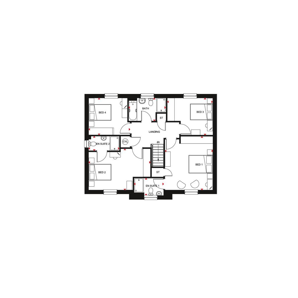 Floorplan 2 of 2: Buchanan 2018 FF floorplan layout November 2019