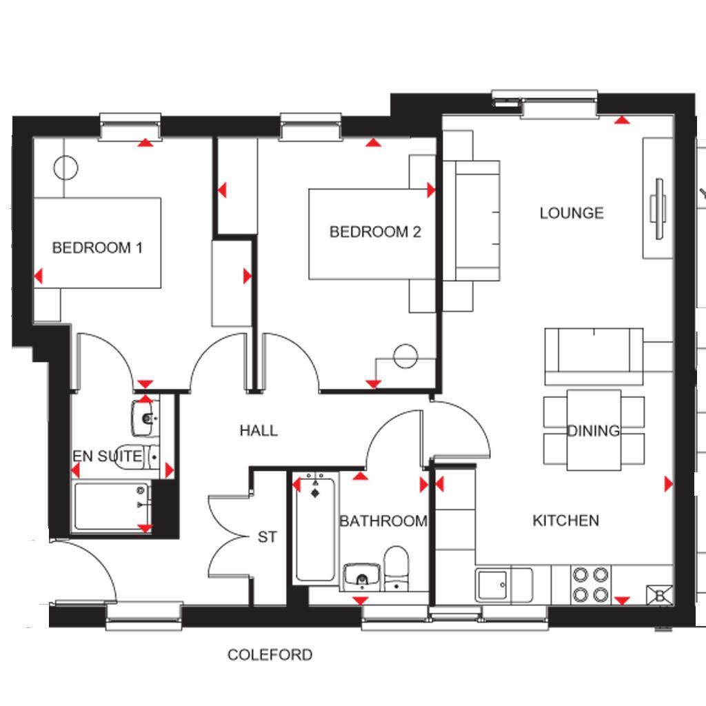 Floorplan: Coleford