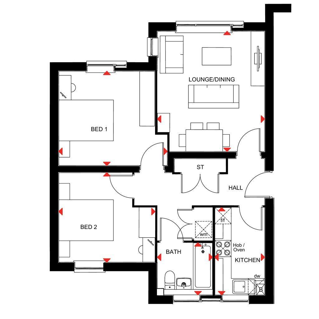 Floorplan: Enderby Special