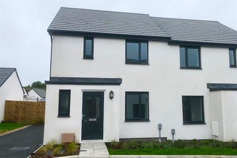 3 bedroom semi-detached house for sale - Plot 461, The Hanbury at Saltram Meadow, Charlbury Drive, Plymstock PL9