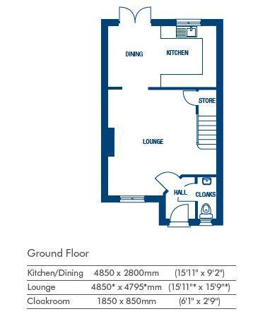 Floorplan 1 of 2: Floorplan ground flo