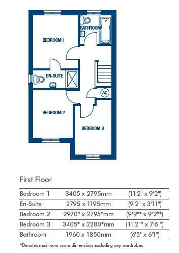 Floorplan 2 of 2: Floorplan first floo