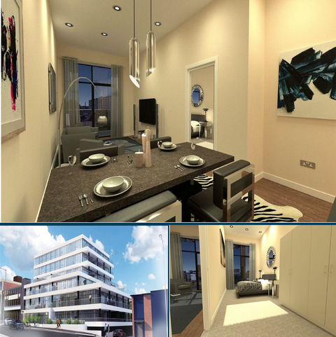 2 bedroom apartment for sale - Plot 307 at Aspen Woolf, Lucent Square, York Road LS9