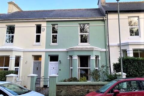 4 bedroom terraced house for sale - Reservoir Road, Hartley, Plymouth. A large, extended 4 bedroomed home in exceptional road opposite the park!