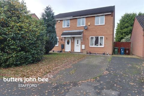 3 bedroom semi-detached house for sale - Castle Acre, Stafford