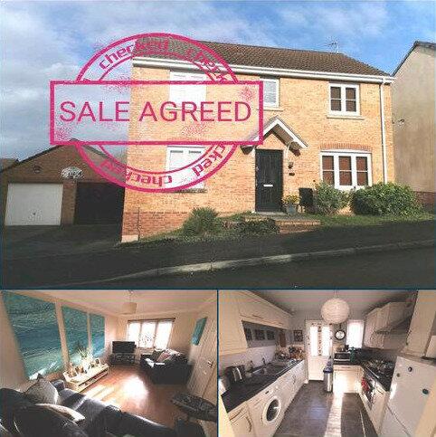 3 bedroom detached house for sale - KINGFISHER ROAD, NORTH CORNELLY, BRIDGEND CF33