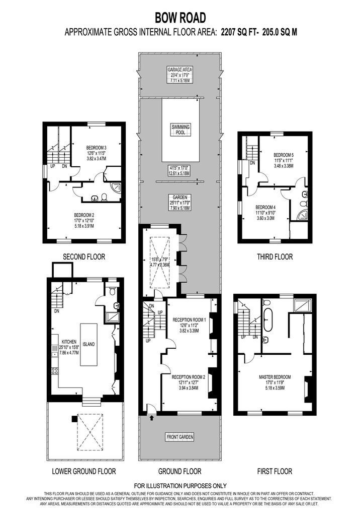 Floorplan: Bow road,69