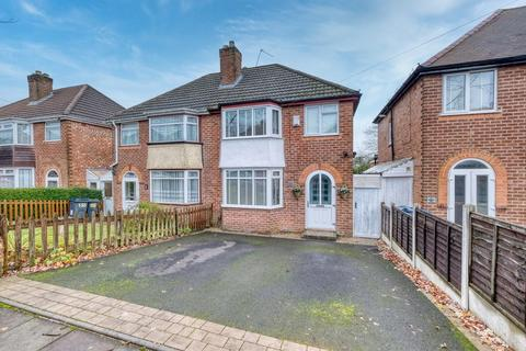 3 bedroom semi-detached house for sale - Green Acres Road, Kings Norton, Birmingham, B38 8NL