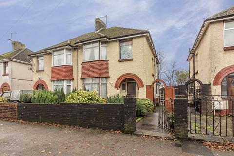 3 bedroom semi-detached house for sale - Mendalgief Road, Newport - REF# 00007981