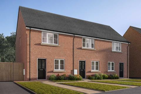 2 bedroom terraced house for sale - Plot 192, The Harcourt at Wilberforce Park, 79 Amos Drive, Pocklington YO42