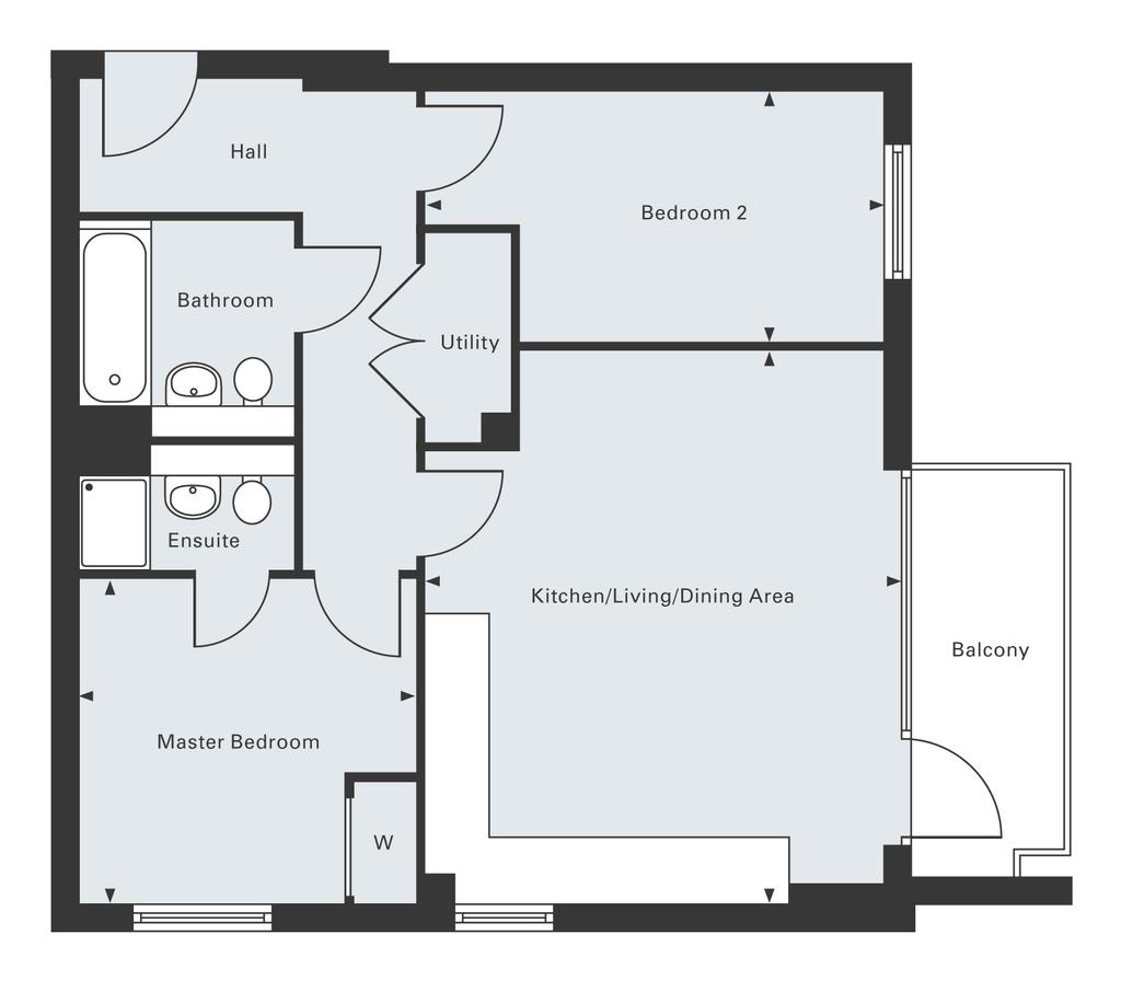 Floorplan: Third Floor