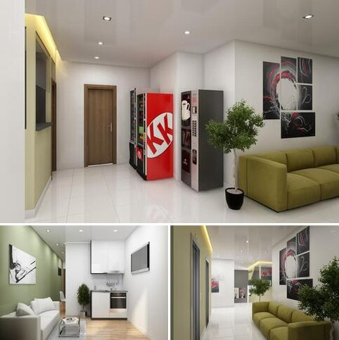 Studio for sale - LG 08 Keele House, at Keele House, The Midway ST5
