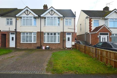 3 bedroom end of terrace house for sale - Wordsworth Road, L & D Borders, Luton, Bedfordshire, LU4 0LH