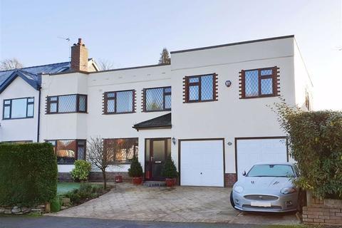 5 bedroom semi-detached house for sale - Kings Road, Pownall Park, Wilmslow
