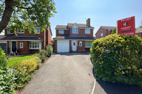 4 bedroom detached house to rent - Marwood Close, Altrincham, WA14 4XD.