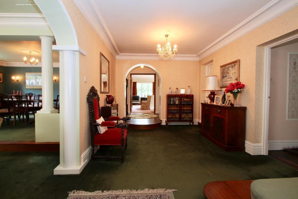 Hallway looking towards family room