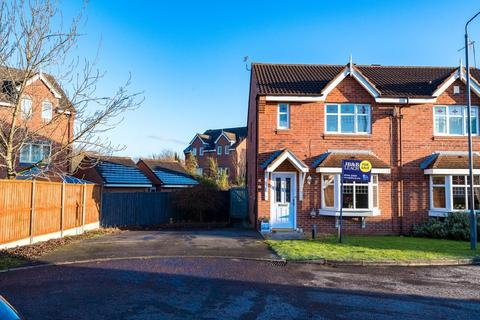 3 bedroom semi-detached house for sale - Dahlia Close, New Bold