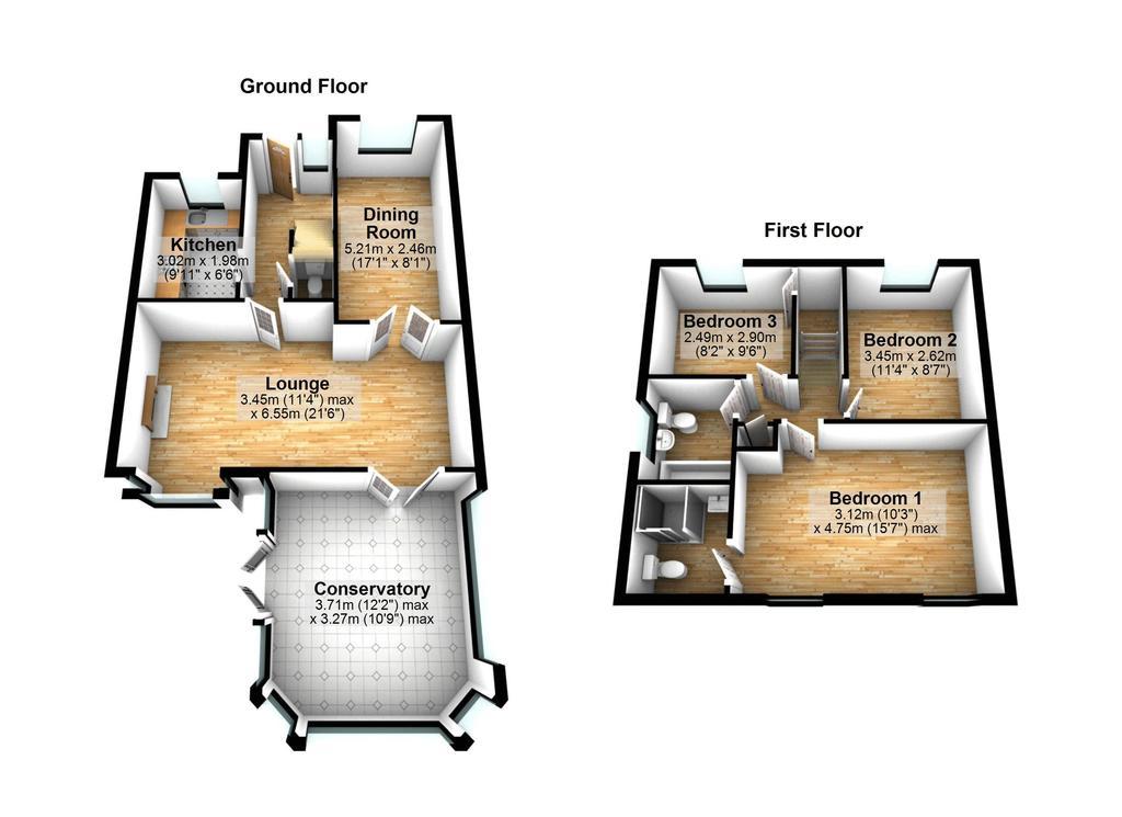 Floorplan 2 of 2: 3 D Floorplan
