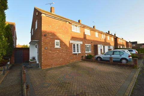 3 bedroom end of terrace house for sale - Carteret Road, Vauxhall Park, Luton, Bedforshire, LU2 9JY