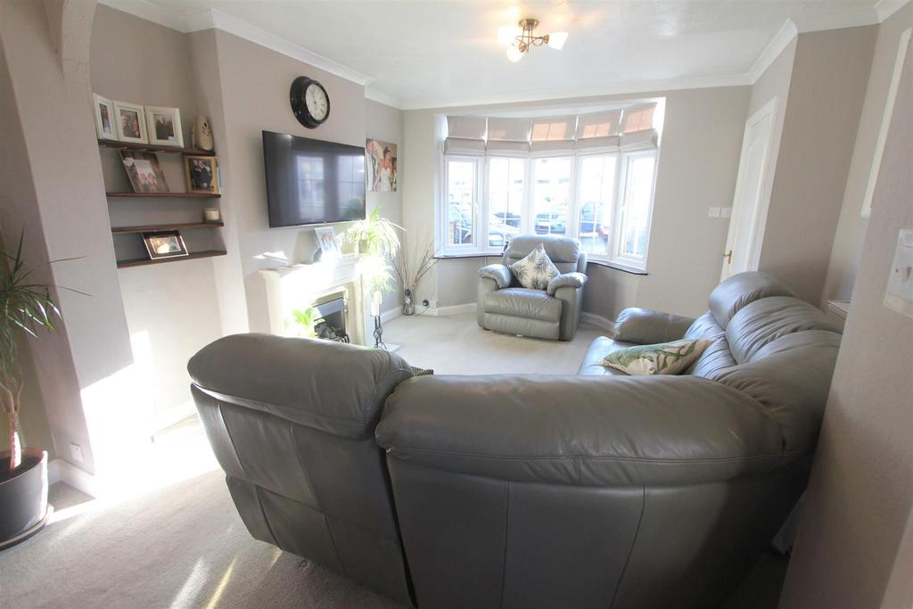 Lounge area to front
