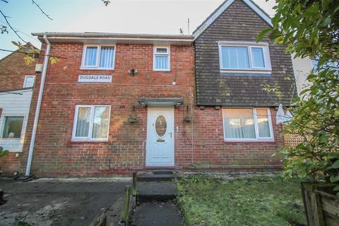 3 bedroom end of terrace house for sale - Dugdale Road, Kenton, Newcastle upon Tyne