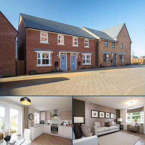 3 bedroom end of terrace house for sale - Plot 399, Archford at Fairfields, Caledonia Road, Vespasian Road, MILTON KEYNES MK11