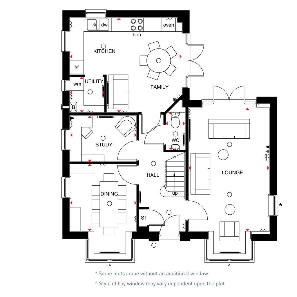 Floorplan 1 of 2: Alnwick ground floor