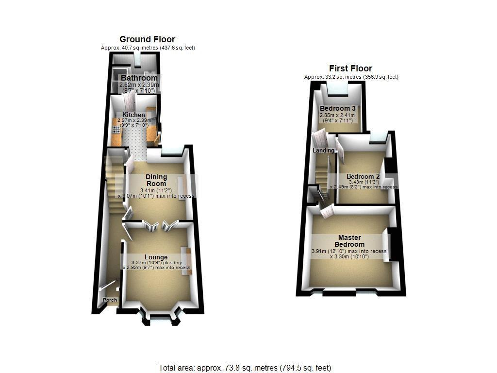 Floorplan 3 of 3: 3 D Floor Plans